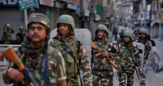 State of siege in Kashmir