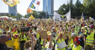Second 'yellow vests' protest in Geneva draws several hundred