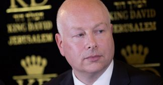 White House Mideast Peace Envoy Jason Greenblatt Resigns