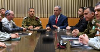 Netanyahu Excluded His Defense Chiefs From Cabinet Call Approving Gaza Op