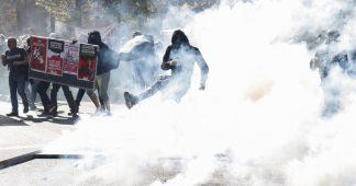 Heurts lors de la marche pour le climat à Paris, infiltrée par 1000 manifestants «radicaux»