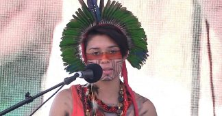 "19-Year-Old Indigenous Climate Activist Artemisa Xakriabá: ""We Fight for Mother Earth"""