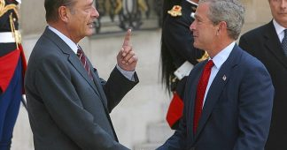 On Iran, Chirac steps in as Bush fears to tread