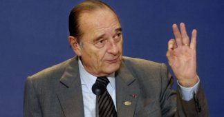 Chirac opposing war whit Iran. They said he did not know what he spoke about. It seemed he knew very well