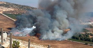 Israel-Lebanon: Air Strikes and Exchange of Fire