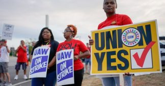 Huge workers strikes in the United States