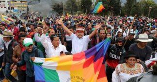Ecuador: Indigenous Organizations Propose a People's Parliament