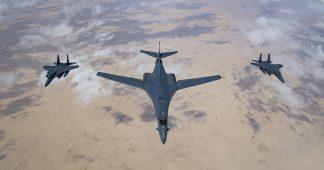 American B-1B deployed in Saudi Arabia against Iran
