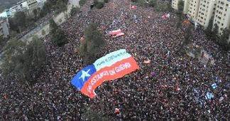 Over 1 Million People March in Chile's Largest Protest