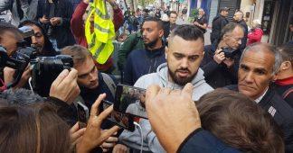 Eric Drouet et quelques Gilets jaunes s'invitent à la manifestation des policiers à Paris