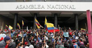 Revolution in Equador!