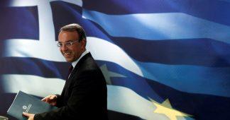 «Il serait trompeur de croire que la crise grecque est derrière nous» (The Greek crisis is in front of us, not behind us)