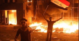 "The US-Iran silent war is transformed into an ""Iraq uprising"""