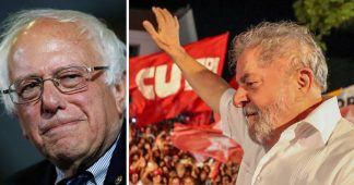 U.S. Presidential Hopeful Bernie Sanders Backs Lula's Freedom