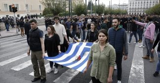 Thousands March in Athens to Commemorate the Polytechnic Uprising