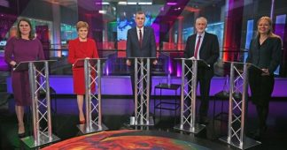 Who won the general election climate debate?