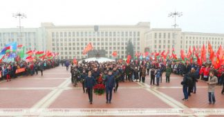 Lukashenko: Memory of October Revolution strengthens social harmony