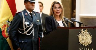 Jeanine Añez Chavez, Trump's favorite. A President, not a Prostitute