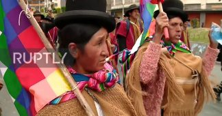 Bolivia: Supporters of Morales march on La Paz to demand resignation of interim government