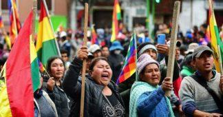 """Bolivie. Entre gouvernement putschiste et résistance populaire, Evo Morales veut """"négocier"""""""