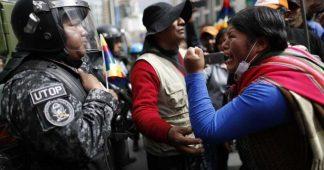 Face au putsch en Bolivie, les travailleurs indigènes créent des comités d'auto-défense