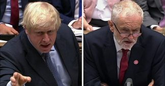 PMQs: Boris and Corbyn battle over the NHS