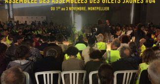 Communiqué de la 4ème Assemblée des Assemblées des Gilets Jaunes