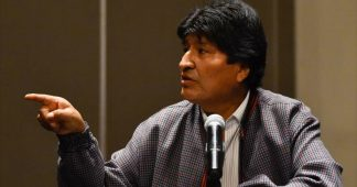 Morales calls for international help to stop Bolivia 'genocide'