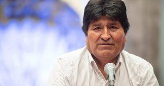 Evo Morales speaks