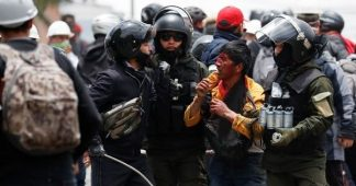 Bolivia: Police Shoot Anti-Coup Protesters in El Alto