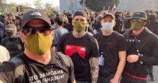 Des néonazis ukrainiens parmi les manifestants à Hong Kong
