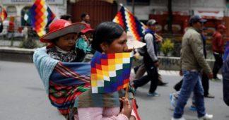 En Bolivia está en marcha una política fascista electoral es unaregresión a le  época deBanzer