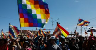 Bolivia protests falter after deal with 'interim' gov't