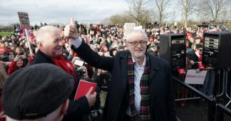 Corbyn urges undecided voters to elect a 'government of hope' that would 'shock the Establishment'