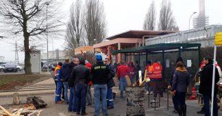 France. Situations des grèves dans les raffineries