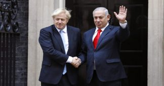 First things first. Johnson wants to ban anti-Israeli protests and strikes and privatize NHS!