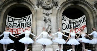 Paris Opera ballerinas, who retire at 42, kick up a fuss over Macron pension plans