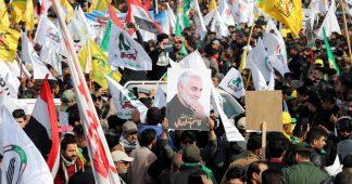Thousands protest in Tehran over Suleimani killing