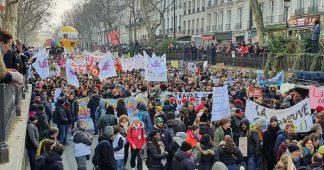 Nouvelle grande journée de mobilisation contre la réforme des retraites