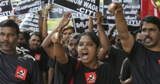 Stunning display of strength rocks India as a fifth of the population goes on strike