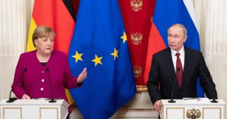 Merkel and Putin agree Iran nuclear deal should be preserved by all means