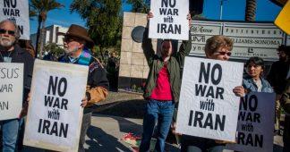 Non à la guerre contre l'Iran
