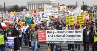 Manifestations aux États-Unis pour s'opposer à une guerre contre l'Iran