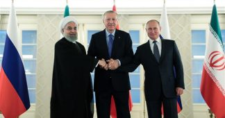 Iran, Russia, Turkey working to agree on date for Syria summit: Turkish source