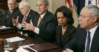 A million deaths later, Bush spokesman defends boss on Iraq