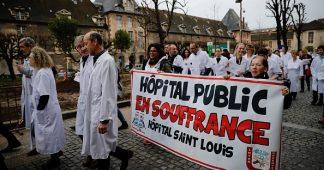 France: La crise de l' hôpital public