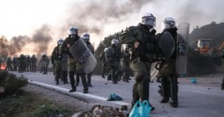 Greece: Islanders respond to police violence with general strike; Lawsuit for environment disaster