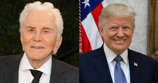 Remembering Kirk Douglas's powerful open letter to Donald Trump