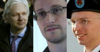 Julian Assange, Chelsea Manning and Edward Snowden nominated for the 2020 Nobel Peace Prize