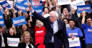 Sanders wins three-way contest in New Hampshire primary